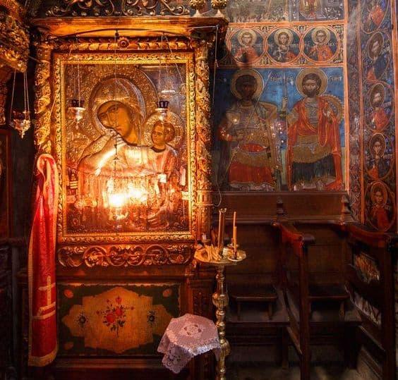 Акафист преподобному и богоносному отцу нашему, Антонию, Печерскому чудотворцу