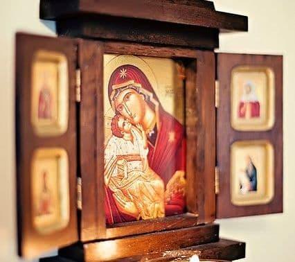 """Акафист Пресвятой Богородице перед Ея иконой, именуемой """"Боголюбской""""(Боголюбивой)"""
