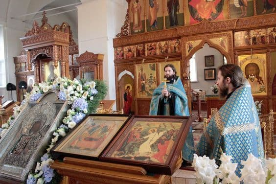 """Акафист Пресвятой Богородице перед Ея иконой, именуемой """"Трех радостей"""""""