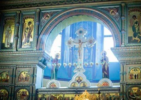 Церковный звон в колокола