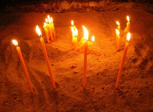 Молитва пред иконою Владимирская