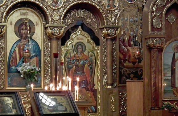 Русская церковная архитектура
