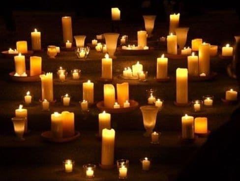 Светильники в православном храме