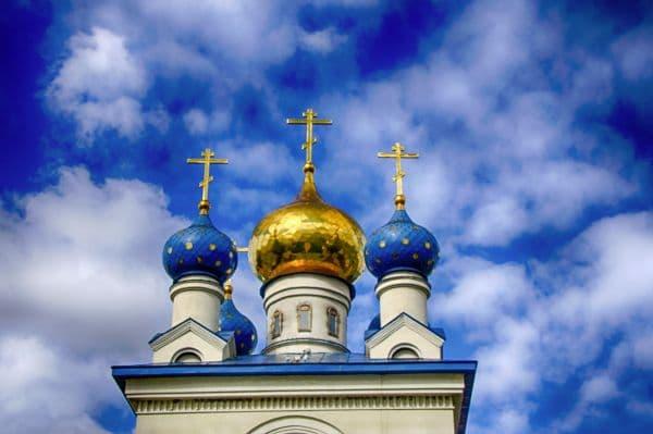 Время совершения церковных служб