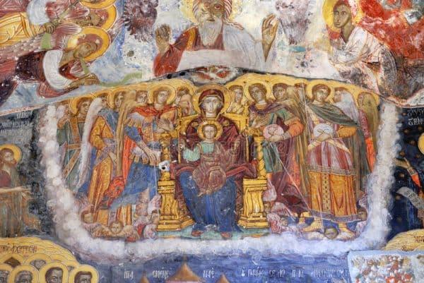 Служение в субботу Лазареву с храмовым святым