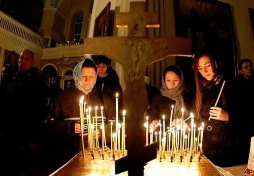 О святых таинствах православной церкви