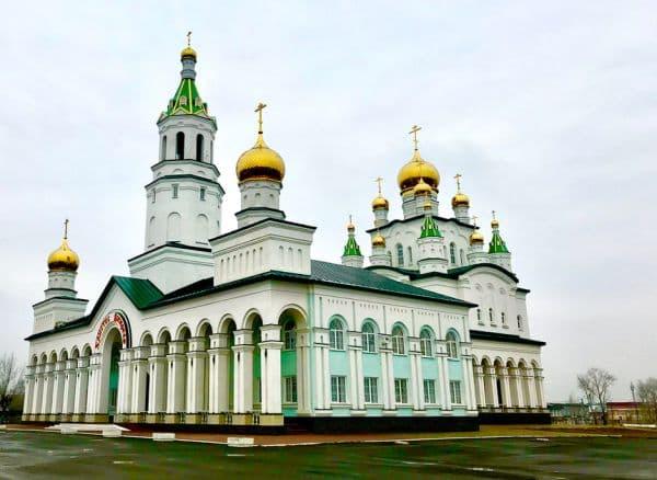 Основание церкви